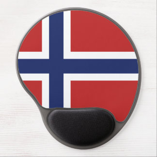 Norway Flag Gel Mouse Pad
