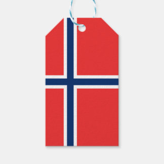 Norway Flag Gift Tags