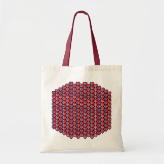 Norway Flag Hearts Bag