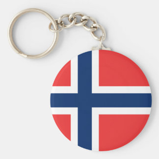 Norway Flag Keychain