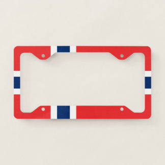 Norway Flag Licence Plate Frame
