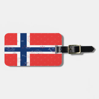 Norway Flag Luggage Tag