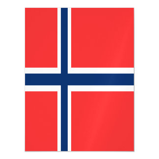 Norway Flag Magnetic Card