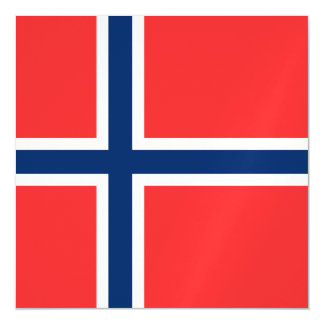 Norway Flag Magnetic Invitations