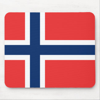 Norway Flag Mouse Pad