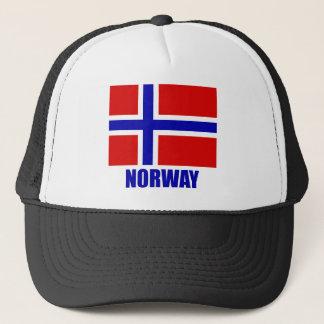 norway_flag_norway10x10 trucker hat