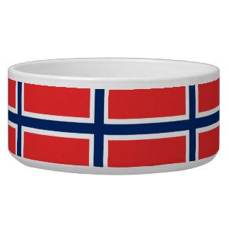 Norway Flag Pet Bowl