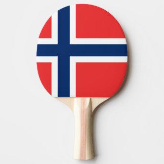 Norway Flag Ping Pong Paddle