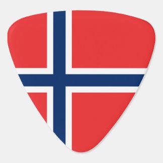 Norway Flag Plectrum