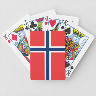 Norway Flag Poker Deck