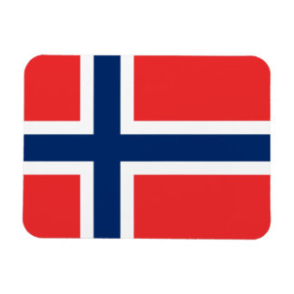 Norway Flag Rectangular Photo Magnet