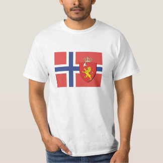 Norway Flag Shirt / Norwegian Crest