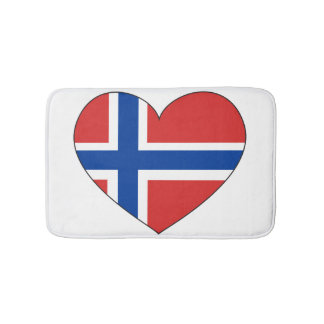 Norway Flag Simple Bath Mats