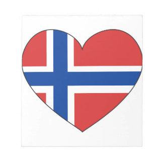 Norway Flag Simple Notepad