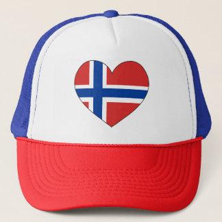 Norway Flag Simple Trucker Hat