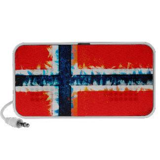 Norway flag iPhone speakers