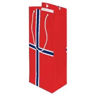 Norway Flag Wine Gift Bag