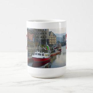 Norway, Gone fishing Basic White Mug