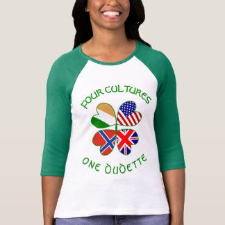 Norway, Ireland, UK, USA 4 Cultures T-Shirt