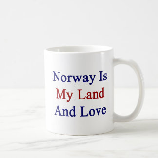 Norway Is My Land And Love Coffee Mug
