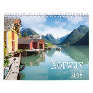 Norway landscape photography calendar 2018