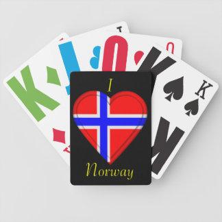 Norway Norwegian flag Card Decks