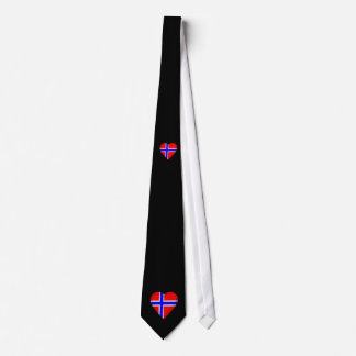 Norway Norwegian flag Tie