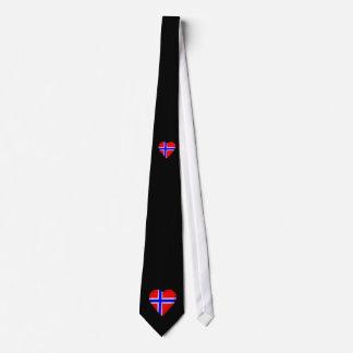 Norway Norwegian flag Tie