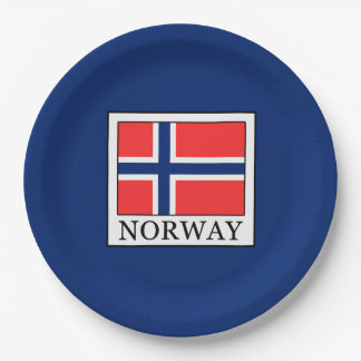 Norway Paper Plate