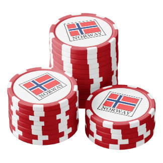 Norway Poker Chips Set