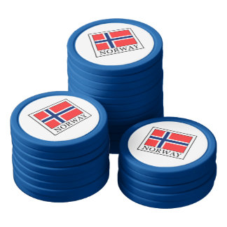 Norway Set Of Poker Chips