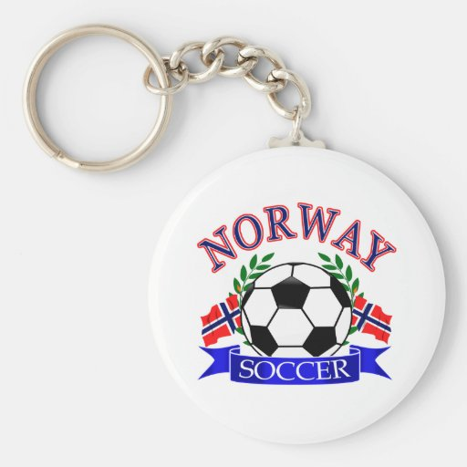 Norway soccer ball Designs Key Chains