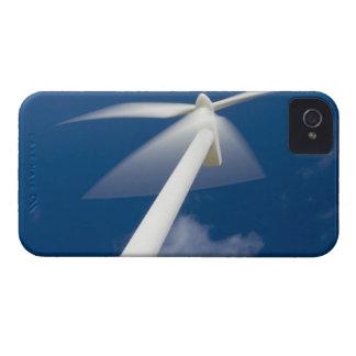 Norway, Sogn og Fjordane. Wind mill at Kråkenes. iPhone 4 Case