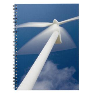Norway, Sogn og Fjordane. Wind mill at Kråkenes. Note Books