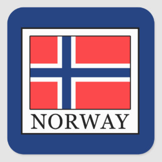 Norway Square Sticker