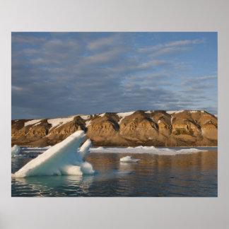 Norway, Svalbard, Spitsbergen Island, Setting Poster