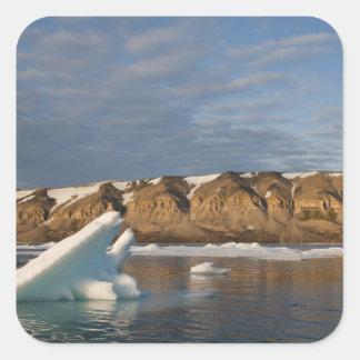 Norway, Svalbard, Spitsbergen Island, Setting Square Sticker