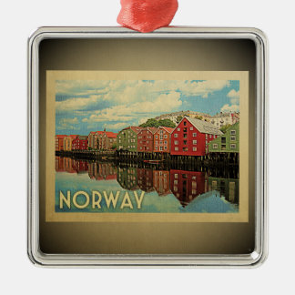Norway Vintage Travel Ornament