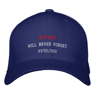 Norway will never forget baseball cap