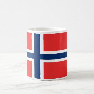 Norway World Flag Basic White Mug