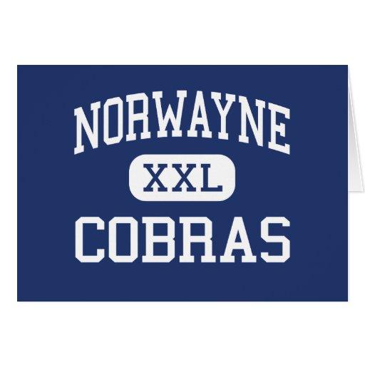 Norwayne Cobras Middle Fremont Cards