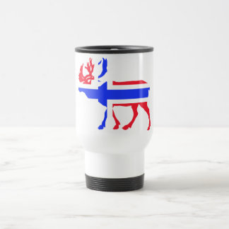 Norwege Elk Stainless Steel Travel Mug