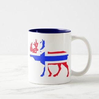 Norwege Elk Two-Tone Coffee Mug