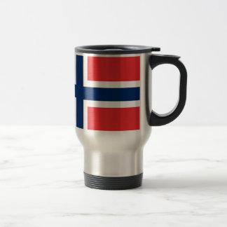 norwegen/norway, flag travel mug
