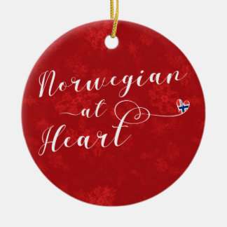 Norwegian At Heart, Christmas Tree Ornament