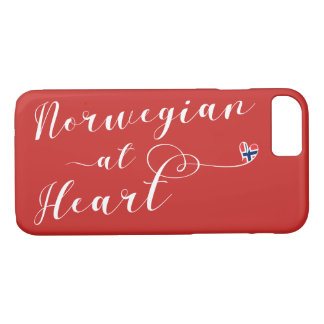 Norwegian At Heart Mobile Phone Case