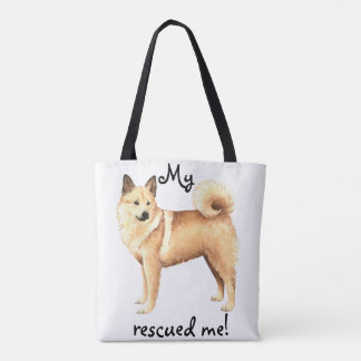Norwegian Buhund Rescue Tote Bag