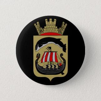 Norwegian Coat of Arms 6 Cm Round Badge