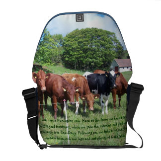 Norwegian cows Bag Commuter Bags