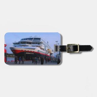 Norwegian cruise ship luggage tag